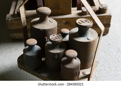 rusty weights
