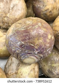 The Rutabaga is a root vegetable that originated as a cross between the cabbage and the turnip.