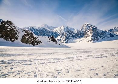 Ruth Glacier Landing