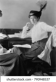 Ruth Hanna McCormick, head, Congressional Committee, National American Woman Suffrage Association, 1913. She as was a politically active feminist before she became a Congresswoman in 1929