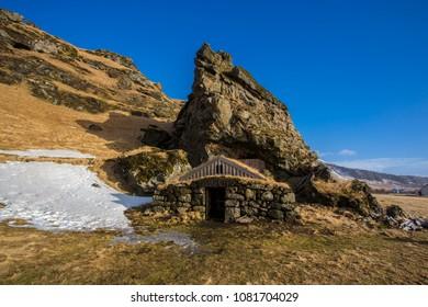 Rutshellir Caves,  Iceland