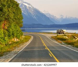 RV near Haines Alaska