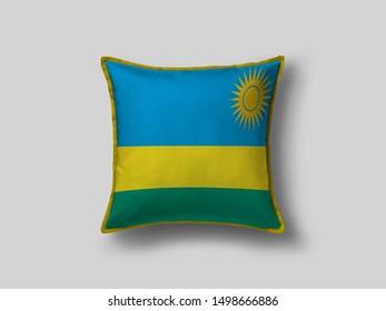 Rwanda Flag Pillow & Cusion Cover. Rwanda cushion cover. Flag Pillow Cover with Rwanda Flag