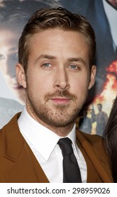 Ryan Gosling at the Los Angeles premiere of 'Gangster Squad' held at the Grauman's Chinese Theatre in Hollywood on January 7, 2013.