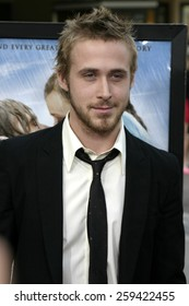 """Ryan Gosling at the """"The Notebook"""" Los Angeles Premiere held at the Mann Village Theatre in Westwood, California United States on June 21 2004."""