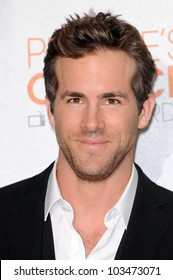 Ryan Reynolds at the 2010 People's Choice Awards Press Room, Nokia Theater L.A. Live, Los Angeles, CA. 01-06-10