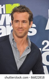 Ryan Reynolds arrives at the 2011 MTV Movie Awards at the Gibson Amphitheatre, Universal Studios, Hollywood. June 5, 2011  Los Angeles, CA Picture: Paul Smith / Featureflash