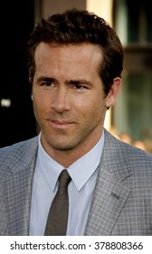 """Ryan Reynolds at the Los Angeles Premiere of """"Green Lantern"""" held at the Grauman's Chinese Theatre in Los Angeles, California, United States on June 15, 2011."""