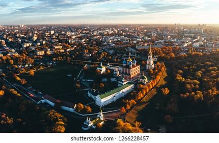 Ryazan Kremlin autumn