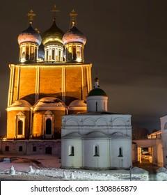 Ryazan Kremlin, Ryazan, Russia January 2017