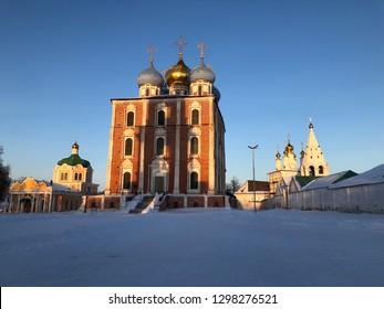 Ryazan Kremlin winter