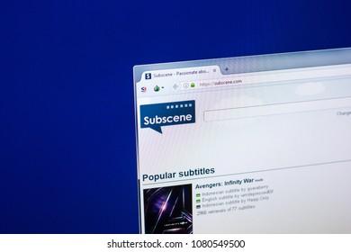Subscenes Subtitle Site