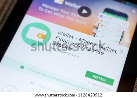 Ryazan Russia July 03 2018 Wallet Stock Photo (Edit Now) 1128420512
