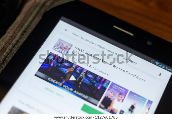 Ryazan Russia July 03 2018 Imvu Stock Photo (Edit Now