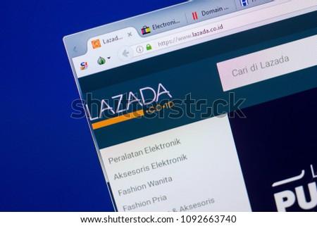 Ryazan Russia May 13 2018 Lazada Stock Photo (Edit Now) 1092663740