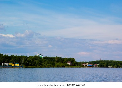 Rybinsk Reservoir, a large reservoir on the Volga River and its tributaries Sheksna and Molode. It is located mainly in the Yaroslavl region