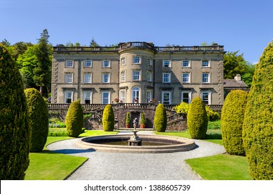 Rydal Hall, Rydal, Ambleside, Cumbria, England. 22 May 2018. Listed two House and Gardens. The gardens where designed by Sir Daniel Fleming in 1700.