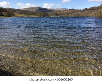 Rydal Water, Lake District, Cumbria, England, UK in the Springtime.
