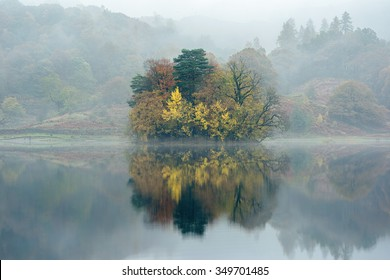 Rydal Water Reflection