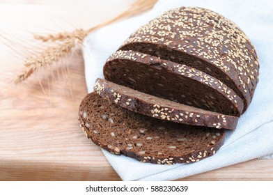 Rye Bread closeup
