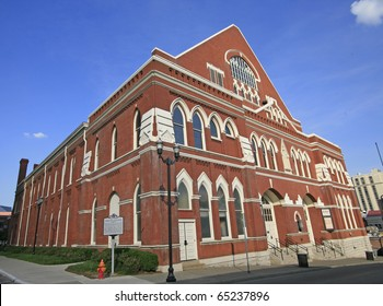 The Ryman Auditorium , the Mother Church of Country Music