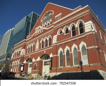Ryman Auditorium in Nashville