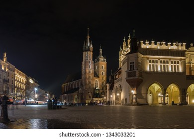 Rynek Główny, Main Square, Cracovia, Poland