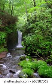 Ryugaeshi falls, Karuizawa, Nagano, Japan