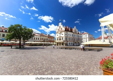 Rzeszow / old town and historical architecture of the city