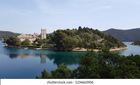 S. Marije Church, Pomena, Island of Mljet, Croatia