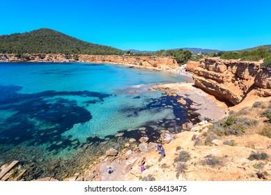 Sa Caleta beach, Ibiza, Spain