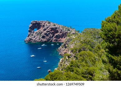 Sa Foradada Cape, North coast of Majorca, Spain