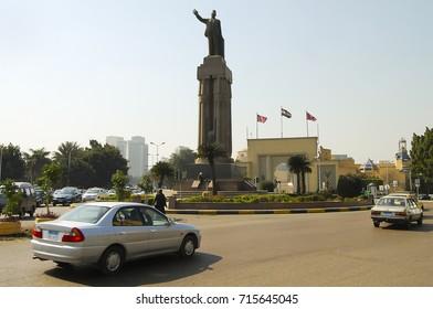 Saad Zaghloul Statue - Cairo - Egypt