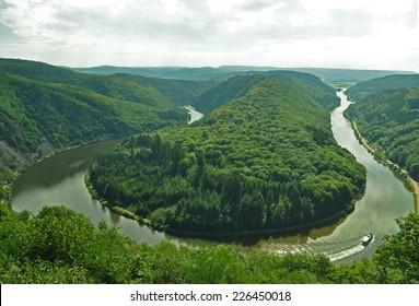 Saarschleife - Saar Bow