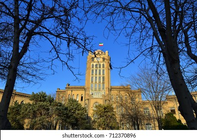 The Saat Tower, is used to be Tabriz Municipality, but due to its historical value, now is museum at Tabriz city , East Azerbaijan Province, Iran.