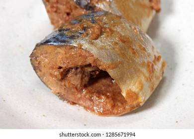 Saba fish simmered miso