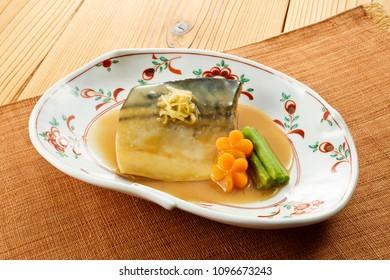 Saba no Misoni(Miso-Simmered Mackerel)