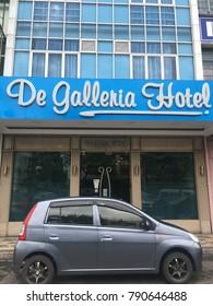 SABAH, MALAYSIA - DECEMBER 28, 2017: De Galeria Hotel at Jalan Kg Air,Kota Kinabalu,Sabah.