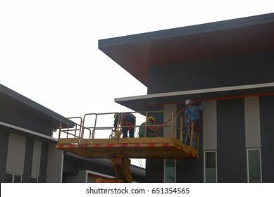 Enjoyable Sabah Malaysia March 3 2017 Construction Stock Photo Edit Now Wiring 101 Jonihateforg
