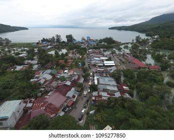 Sabang Bay from Sky