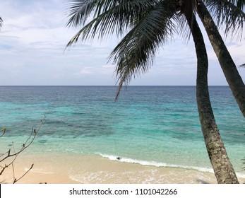Sabang island beach view