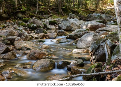 Sabbaday Brook in the White Mountain National Forest