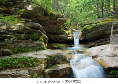 Sabbaday Falls - Tourist Attraction in White Mountain National Forest, New Hampshire