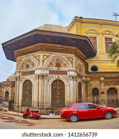 Sabil Umm Abbas is one of the most beautiful buildings with ornate decoration, located in historic Al-Saleeba street, Cairo, Egypt