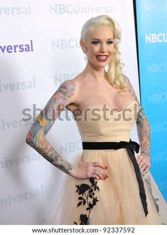 Sabina Kelly Star Of Best Ink At The Nbc Universal Winter 2012 Tca Party