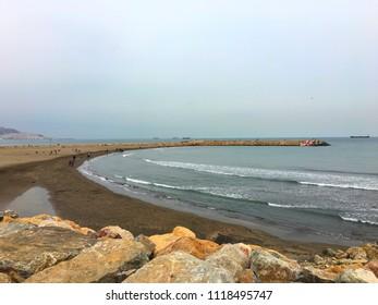 Sablettes Beach, Algiers, Algeria.