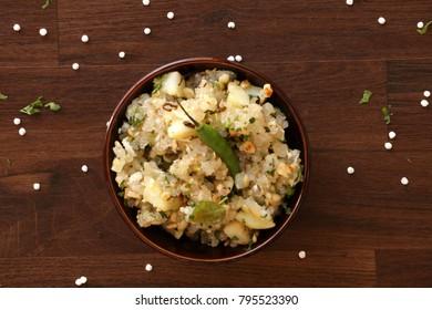 Sabudana khichdi is a light dish made with sabudana. Usually eaten most during fasting days like Navratri or mahashivratri or Ekadasi.