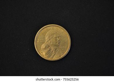 Sacagawea Coin, Front