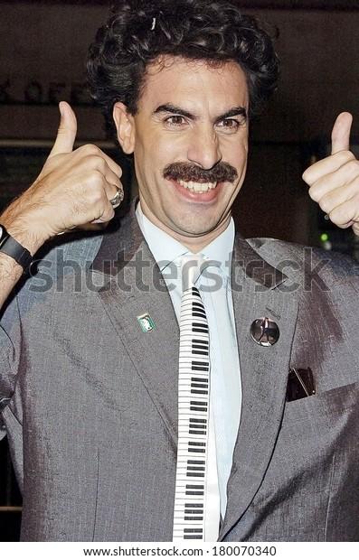 Sacha Baron Cohen Premiere Borat Cultural Stock Photo Edit Now 180070340