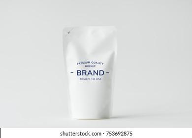 Sachet brand mockup